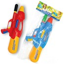 Great Outdoor fun with this brightly coloured Pump  Action Gun. Great for the Summer. Assorted  Colours. Age 3+