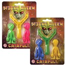 Coloured Putty encasing twin aliens in to a  plastic Egg. 4 assorted. Height 8cm. Age 3+