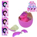 6cm hatching Unicorn egg  Place in water for 48 hours and see the dinosaur  hatch out. Display box of 12. Age 3+.