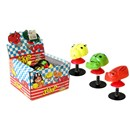 "Assorted creatures on jump action spring with  suction cup.  Length 2"" (5cm).  Age 3+."