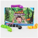 Fun finger snakes for wiggly fingers.  Assorted  colours in display box of 24.  Age 3+.