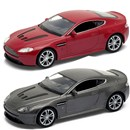 Aston Martin V12 Vantage Die Cast Car with pull  back and go feature. 2 assorted Age 3+