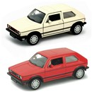 VW Golf GTI Mk 1 Die Cast Classic with pull back  and go feature. 3+