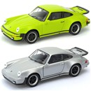 Porsche 911 Turbo Die Cast Car with pull back and  go feature. 2 assorted Age 3+