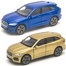 Jaguar F-Pace Die Cast Car with pull back and go  feature. 2 assorted Age 3+