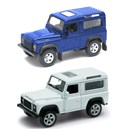 Land Rover Defender Die Cast Classic Car with pull  back and go feature. 2 assorted Age 3+