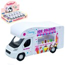 Ice Cream Van. Die Cast with pull back and go feature. Approx 11.5cm. Age 3+