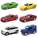 3 Inch scale assorted licenced models with  freewheeling action.  Diecast metal. Window boxed  in display box of 36.  Age 3+.