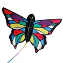 Brookite Tropical Butterfly is made from polyester ripstop with fibreglass struts. Single line with 1 handle. For use in a light-moderate breeze (Bf 2-4). Dimensions (H) 80cm x  (W) 107cm. Recommended Age 3+