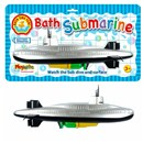 Battery operated 33cm submarine for bath time fun!  Watch it dive and surface. Age 3+.
