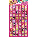 10cm x 20cm Sheet of square Stickers beautifully illustrated Disney Princesses including Snow White, Cinderella and Ariel. Great for applying to school books, craft projects and much much more. Age 3+