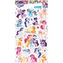 10cm x 20cm Sheet of Stickers with characters from My Little Pony including Rainbow Dash, Applejack and Twighlight Sparkle. Great for applying to school books, craft projects and much much more. Age 3+