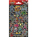 10cm x 20cm Sheet of Stickers with characters from Power Rangers. Great for applying to school books, craft projects and much much more. Age 3+