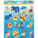 15cm x 20cm Sheet of shaped Stickers with Winnie The Pooh Characters. Great for applying to school books, craft projects and much much more. Age 3+