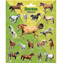 15cm x 20cm Sheet of shaped Stickers of various Horses. Great for applying to school books, craft projects and much much more. Age 3+