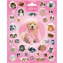 15cm x 20cm Sheet of Stickers with various dogs and pup. Great for applying to school books, craft projects and much much more. Age 3+