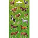 10cm x 20cm Sheet of various horse shaped Stickers. Great for applying to school books, craft projects and much much more. Age 3+