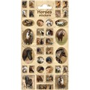 10cm x 20cm Sheet of various horse Stickers. Great for applying to school books, craft projects and much much more. Age 3+