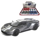 2017 Ford GT Die Cast Car with pull back and go  feature. 4 assorted Age 3+