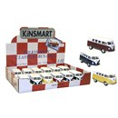 Diecast VW Camper in assorted colours.  Display  box of 12.  1:32 scale.  Age 3+.