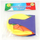 "Pack of 4 giant 24"" balloons."