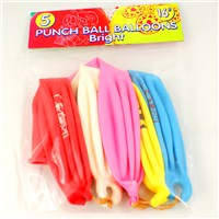 5 Pack of bright punchball balloons.