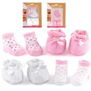 "Shoes and socks suitable for dolls up to 46cm  (18"").  2 Assorted.  Age 18m+."