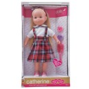 "*** NEW FOR 2018 ***    41cm (16"") soft bodied doll with beautiful extra  long blonde hair. Dressed in deluxe tartan dress  and has sleeping eyes. Also includes hair  accessories. Age 18m+"