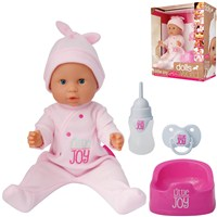 Peterkin UK Ltd - dollsworld Little Joy Pink Outfit