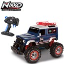 1:16 Scale off road vehicle built tough to tackle  rugged terrain.  Full function with 2.4GHz  frequency for 10+ player racing.  Age 8+.
