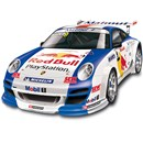 Evo Pro-Line Porsche 911 GT3 Red Bull pro grade  2.4GHz with 100M range. Frequency hopping  technology, race with up to 40 other vehicles.  24km/h top speed.  1 Hour quick charger. Includes  9.6V Ni-MH rechargeable battery pack.