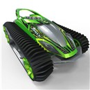 Full function remote control action  with fast and futuristic styling!  Features  360-degree spins and ultra-manoeuverability  allowing you to race through any terrain and over  obstacles.  2.4GHz 10+ player racing.  1 Hour  quick charger included.  Age 8+