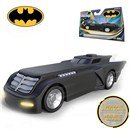"Batmobile from the Animated Series. With lights  and realistic sounds in ""try me"" pacakaging.  Length 13cm. Age 3+"