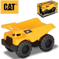 "Built ""Kid Tough"" for long lasting play. Mini  Worker Dump Truck with easy grip handle. Great for  Outdoor Play. 17cm Length. Age 2+"