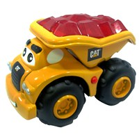 15cm pre-school characterised Cat machine.  Press  the button for glowing feature, fun vocals and  music.  Age 2+.