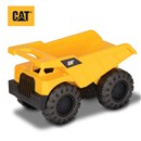 "Freewheeling 10"" Cat dump truck with aggressive  Cat styling.  Great for indoor or outdoor play.  Age 2+."