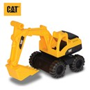"Freewheeling 10"" Cat excavator with aggressive Cat  styling.  Great for indoor or outdoor play.  Age  2+."