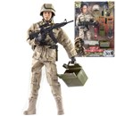 Detailed military action figure dressed in full uniform with over 30 articulated points. Includes a variety of accessories such as dynamite, shovel, guns and much more. Height 30.5cm.  1:6 scale  Age 3+.