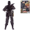 Detailed military action figure dressed in full uniform with over 30 articulated points. Includes a variety of accessories such as balaclava, vest, dagger with case and much more. Height 30.5cm.  1:6 scale  Age 3+.
