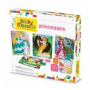 ***NEW FOR 2019***Mosaic by numbers! Follow the easy number coding system to apply the self adhesive shaped foam tiles to the template and create beautiful princess mosaic's. Set includes 4 designs to decorate, with 2044 sticky tiles. 5yrs+