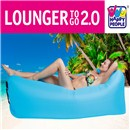 Lounger to Go Air Cushion blue
