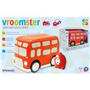 vroomster soft rc double decker bus