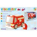 vroomster soft rc fire engine
