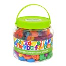 Tub of 108 magnetic lower case letters. Age 3+