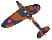 NEW FOR 2020! Brookite Imperial War Museum licensed Spitfire single line fun kite, made from ripstop polyester. 60 x 70cm. Ages 3+
